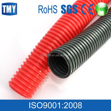 reinforced plastic black elctrical corrugated pipe