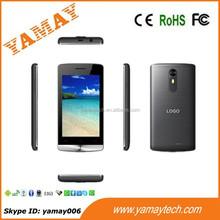 2015 new Spreadtrum SC7731 quad core smartphone 4 inch screen 3G dual SIM mobile phone for sale