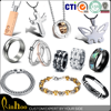 Fashion Circle cheap stainless steel jewelry/bulk pendant cheap jewelry wholesale