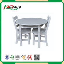 White Chinese Painted Wood Dining Room Furniture
