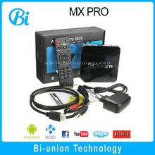 quad core tv box MXPRO amlogic s805 MXpro Quad Core 1.5GHz Android 4.4 Mini pc TV stick TV Dongle