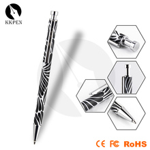 Jiangxin 2014 new mini hiddren metal pen with rubber paint for Japan market