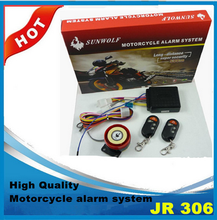 High quality Motorcycle Alarm system One way waterproof motorcycle alarm