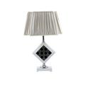 muebles para el hogar decoración de época lámparas de mesa con pantalla de tela