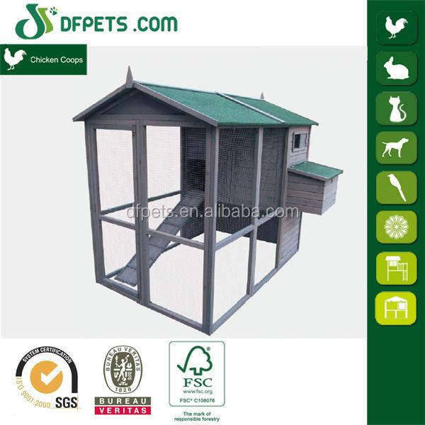 DFPets DFC008 Cheap Wooden Chicken Coop