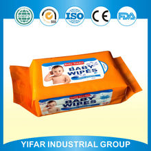 Sale top grade A quality commercial skin care well baby wet wipes