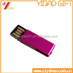 Promotion of aluminium alloy USB drive with memory 32MB to 64GB