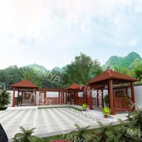2015 Metal garden bridge gazebo for sale