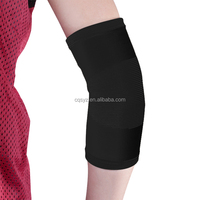 2015 newest Chinese factory made black nylon knit elastic basketball volleyball protective elbow sleeve