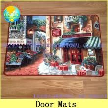 Fashionable Nylon printed door mat, customized design/logo floor mat