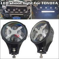 "Colorful Halo LED Shooting Light With ""X"" Runing Light For toyota/For jeep"