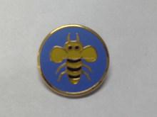good animal design metal lapel pin badge, imitation hard enamel lapel pin