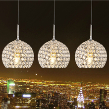 2015 New Arrival Jeveya Crystal Round Pendant Light 220V E27 Mordern Crystal Ceiling Light