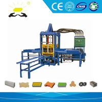 QTF 3-20 concrete small paving brick machine for sale in shandong linyi