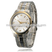 2015 promotion gift all stainless steel watch classic men watch
