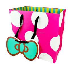 Fancy paper Cardboard printed shopping bags