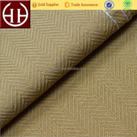 Import Fabric China 310GSM Thick Solid 100% Cotton Herringbone Twill Fabric With Permanent Fabric Dye For Pocketing/Interlining