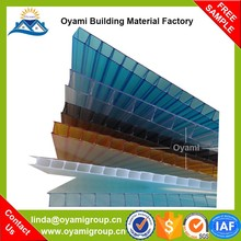 Alibaba china building materials transparent anti-scratch polycarbonate solid panel for carport
