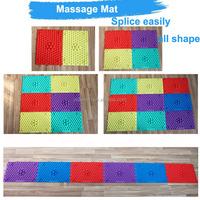 Acupressure body foot massage mat