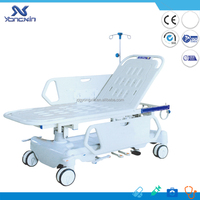 china imported hydraulic patient transport stretchers trolley in hospital beds (YXZ-E2)