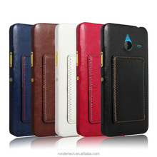 2015 China New Case Crazy horse For nokia Lumia 640XL Wallet Case Pu leather case with Card Slots and Cash Compartment Flip Cove