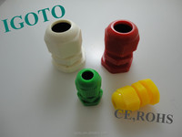 Electrical cable joints electrical wire nuts IP68 plastic PG watertight cable gland pg16