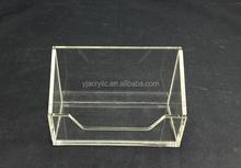Customized Clear acrylic card stand/acrylic card case