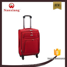 Nylon 1680D,durable,,carry-on types,soft nylon travel luggage trolley