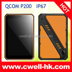 QCOM P200 Android 3G Rugged Tablet PC 8 Inch IPS Screen 1GB RAM/8GB ROM 8.0MP Camera Waterproof Tablet PC IP67