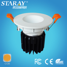 narrow beam angle 40 epistar chip projects lighting adjustable recessed led deck down lights