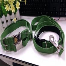 Factory supply hypoallergenic solid hemp adjustable pet dog collar and leash