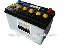 High quality dry charged car starting battery 135AH