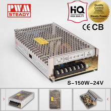 meanwell CE S-150-24 150w 24v 6.3a ac-dc industrial switching power supply