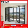 France style Aluminum Doors for External Prices Accordion Folding Doors/Pictures Aluminum Window and Door