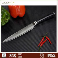 damascus vegetable and fruit carving knife