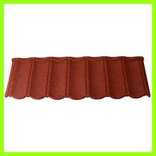 color coated new wave aluminium stone coated roofing sheet