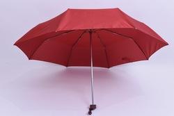 21''*8k fiberglass and aluminum rib 3 Folding umbrella