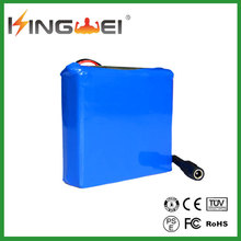 nimh aaa 12v 8000mah rechargeable ion battery pack/18650 lithium ion battery pack