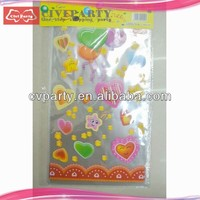 custom printed cellophane candy bags cone shaped candy bag