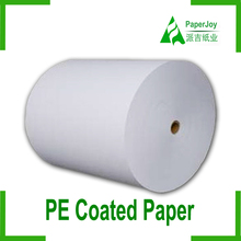 food grad 100% virgin wood pulp pe coated paper with the CMA&CAL certification