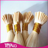Human remy hair 1g/strand Indian Keratin Hair I tip