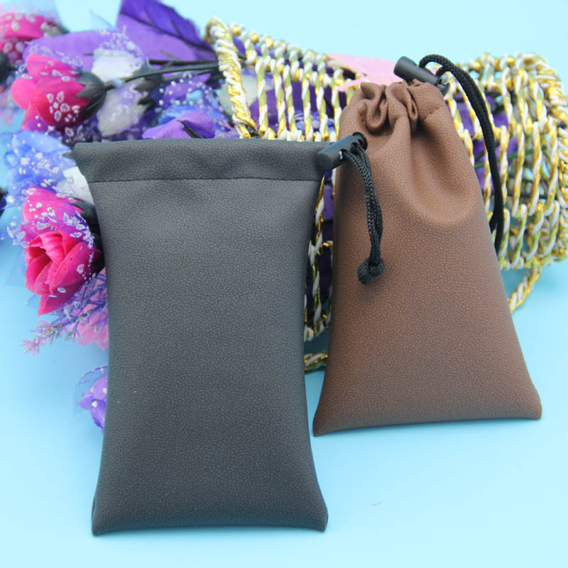 Soft PU Drawstring Bag