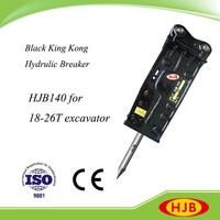 Hot Sale HJB140 Top Type Hydraulic Pile Breaker for Breaking Rock / Stone / Concrete / Ice / Frozen Soil