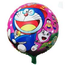 China cartoon foil doraemon balloons