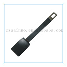 Hot selling plastic double buckle seat belt and rigid seat belt extender