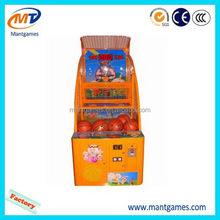 Designer Children basketball machine/promotional newest amusement park games factory
