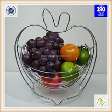 Apple Shape fruit basket from professional metal manufacturer