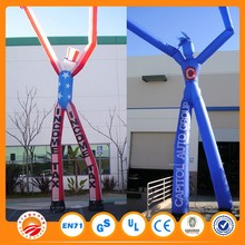 Custome Outdoor Advertising Car Wash Inflatable Air Dancer with EN14960 Certificate