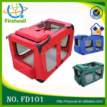 durable pet travel bag, various color soft dog crates