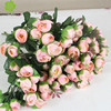 Artificial camellia flower cheap artificial silk flower for funeral
